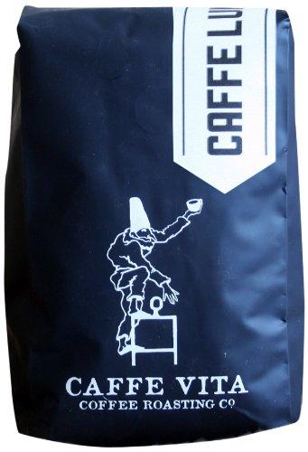 Caffe Vita Caffe Luna Whole Bean (Dark), 12 oz