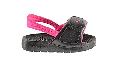 1c6b41b6346 Jordan Hydro 3 BT Baby Toddlers Sandals Black Vivid Pink 630761-009 (10
