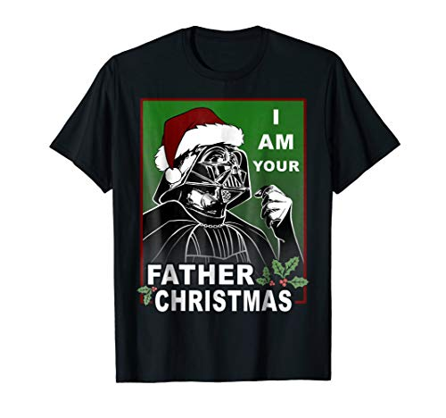 Star Wars I Am Your Father Christmas Graphic T-Shirt