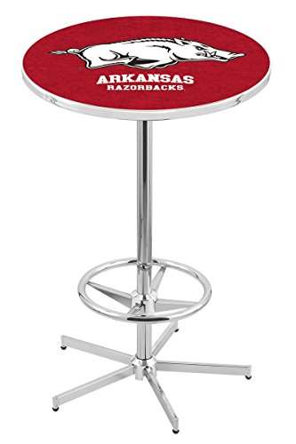 Holland Bar Stool L216C University Of Arkansas Officially Licensed Pub Table, 28