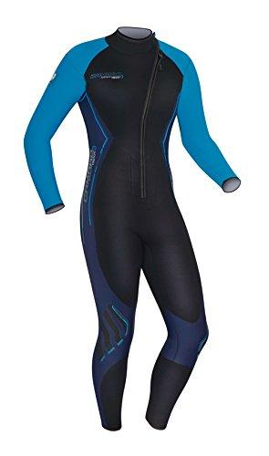 - Camaro Men's Titanium 3mm Wetsuits, Black/Blue, Medium