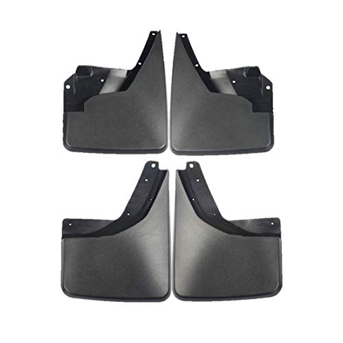 Set of 4 Front and Rear Mud Flaps Splash Guards for Hummer H3 2006-2010