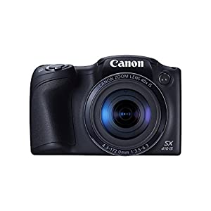 Canon PowerShot SX410 IS 20.0 MP Digital Camera with 40x Optical Zoom (24?960mm) and 24mm Wide-Angle Lens, 3.0 Inch LCD and 720P HD Video (Certified Refurbished)