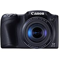 Canon PowerShot SX410 IS 20.0 MP Digital Camera with 40x Optical Zoom (24–960mm) and 24mm Wide-Angle Lens, 3.0 Inch LCD and 720P HD Video (Certified Refurbished)