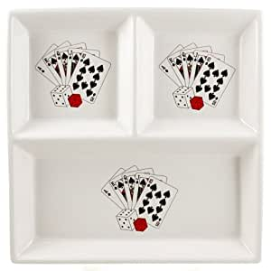Poker serving dishes
