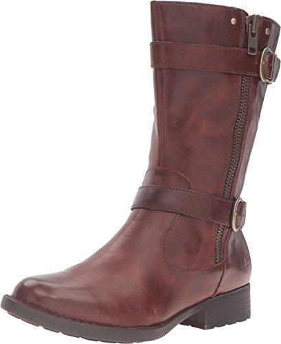 Born Leather Boots - Born Women's Erie Cognac Full Grain Leather 6 M US