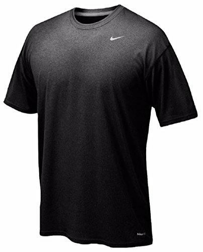 Nike Mens Legend Short Sleeve Tee (Youth Large, Black) (Nike Waffle Shirt)