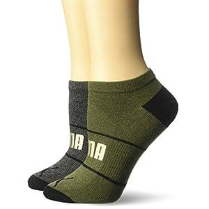 Puma Junior's Ladies 2 Pack Socks, 007 Black Combo, 9-11