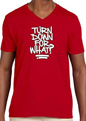 Trendy USA 626 - Men's V-Neck T-Shirt Turn Down for What Lil Jon Dj Snake