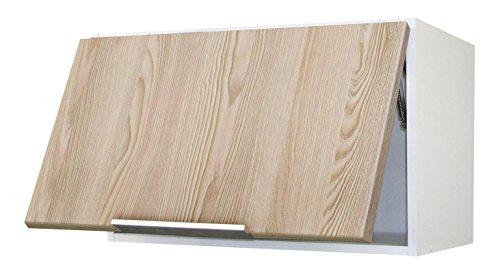 Berlioz Creations CH6HC Meuble Haut de cuisine sur-Hotte Frêne 60 x 34 x 35 cm