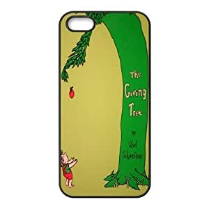Giving tree Design Solid Rubber Customized Cover Case for iPhone ipod touch4 ipod touch4-linda118