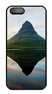 iPhone 5 5S Case Mountain PC Custom iPhone 5 5S Case Cover Black