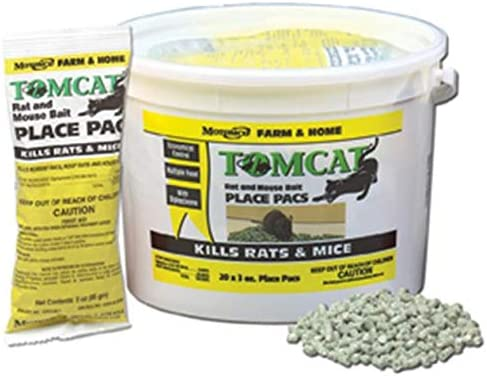 MOTOMCO Tomcat Mouse and Rat Poison Pack