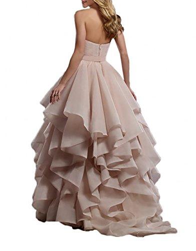 Rosa Partykleider Abiballkleider A Linie Lang mia Festlichkleider Abendkleider Braut Blau Ballkleider La Tanzenkleider qwpEYxRf