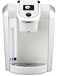 Keurig White Brewing System Display Noticeable
