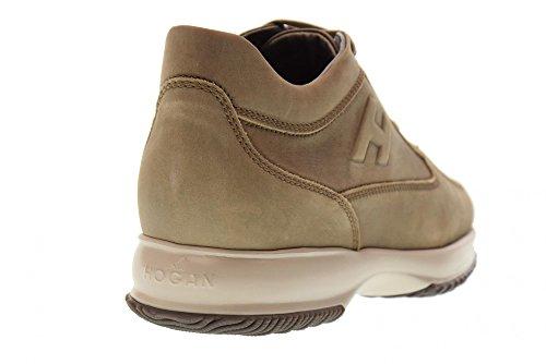 Schoenen Van Hogan Van Mannen Lage Sneakers Hxm00n09041lnds413 Interactieve Modder Chiaro
