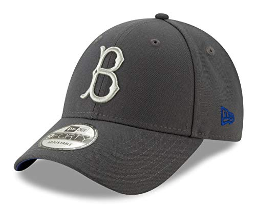 new style 5c24e 76046 New Era Brooklyn Dodgers 9Forty MLB Cooperstown The League Graphite Hat