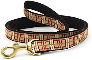 """product image for Up Country UPC-L-N Plaid Dog Lead Narrow 5/8"""""""