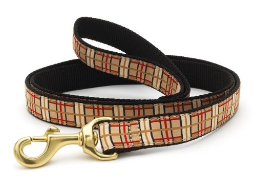 Up Country Plaid Dog Lead 6 ft Length - 1 In Width