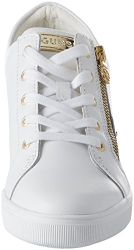 Lady Active White Mujer Zapatillas Guess White para Footwear Blanco F6nwqgAZEg