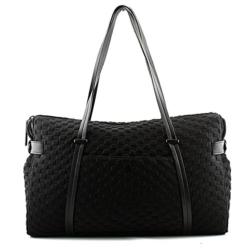 elliott-lucca-remy-duffel-tote-bag-black-neoprene-one-size