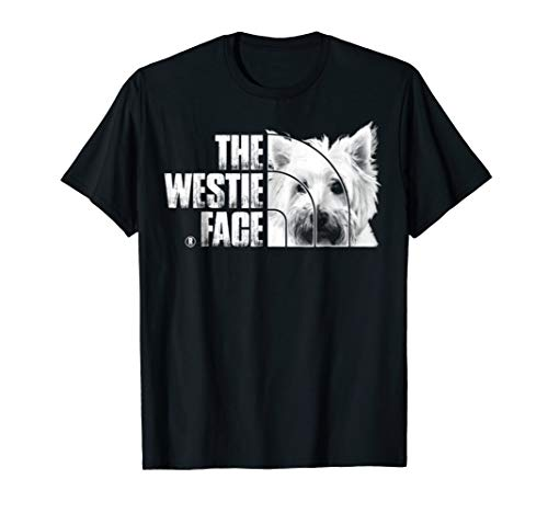 Westie Dog Lover The Westie Face Tshirt