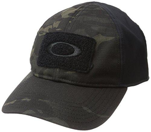 Oakley Men's Si Cotton Cap Mc, Black Multicam, L/XL