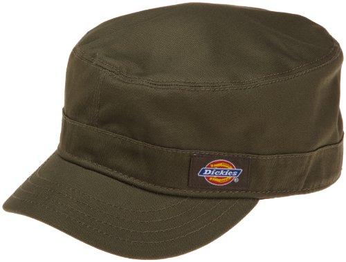 Military Cap Hat Olive (Dickies Men's Military Radar Cap,Olive,Large/X-Large)