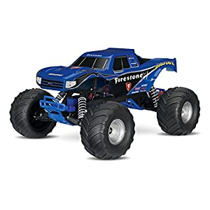 Traxxas Bigfoot: 1/10 Scale Ready-To-Race Monster Truck with Tq 2.4Ghz Radio System, Blue