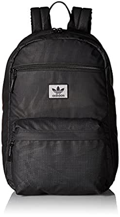 adidas Originals Unisex National Plus Backpack, Black, ONE SIZE