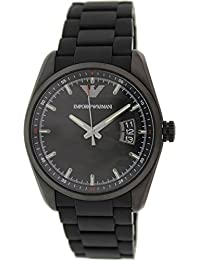 Emporio Armani Men's Sport AR6052 Black Silicone Automatic Watch