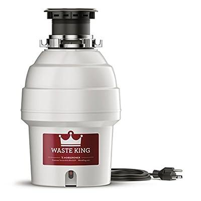 Waste King L-3300 Garbage Disposal, 3/4 HP