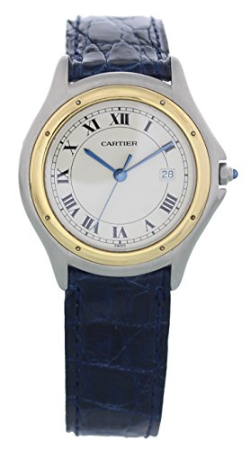 Cartier Cougar Ronde swiss-quartz mens Watch 1180 (Certified Pre-owned)
