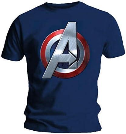 Azul Medio Pelele para beb/é Logoshirt Logo Dise/ño Original con Licencia Body Marvel Comics Capitan America Escudo