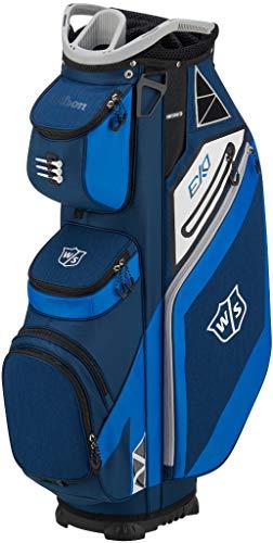 Wilson Staff EXO Cart Golf Bag, Blue (Golf Wilson Nylon Bag)