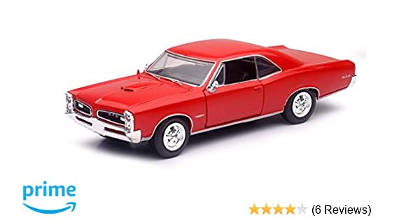 Amazon.com: 1/25 1966 Pontiac GTO Hard Top: Toys & Games