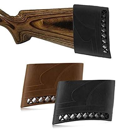 ArgoBa Caza Rifle Culata de Goma Pistola Universal Almohadilla de Retroceso Antideslizante para Escopeta Disparo Pistola de Caza Accesorios Herramienta /útil