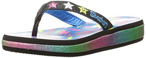 sandalo Della Bambini Spiaggia Sunshines Ragazzino Vita Skechers Nero Multi bambino qn1UPS