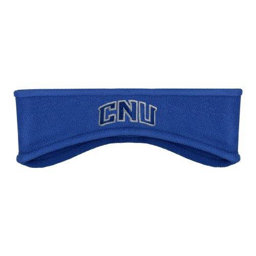 (Christopher Newport Royal Stretch Fleece Headband 'Arched CNU')