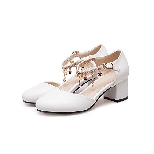 AdeeSu Womens Non-Marking Waterproof Cold Lining Urethane Sandals SLC03911 White O2wc84x