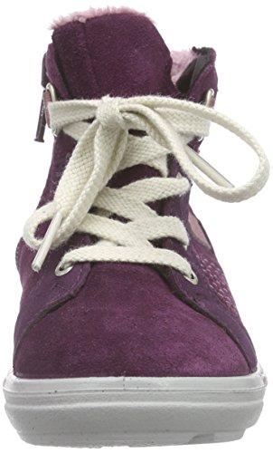 Ricosta Megi Mädchen Hohe Sneakers Violett (merlot 364)