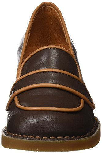 Bristol Women's Brown Star Art Brown cuero Pumps f8Bfpn