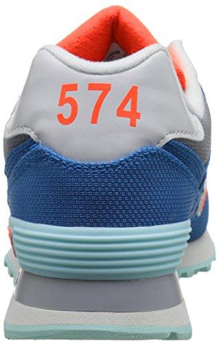 Scarpe donna tempo libero, sneakers New Balance, mod. WL574, art. NBWL574WHB, colore grigio.