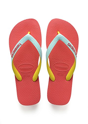 Havaianas Mens Top Mix Flip Flops, Blue Coralnew