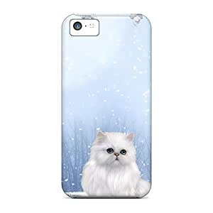 Iphone Cover Case - Winters Cat Protective Case Compatibel With Iphone 5c