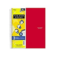 Mead Five Star 3-Subject Notebook - -06210