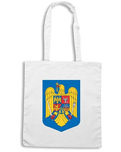 Borsa Shopper Bianca TM0127 ROMANIA CITTA