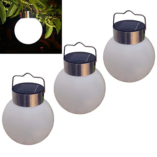 Luwint Outdoor Led Hanging Solar Lights - Solar Powered L...
