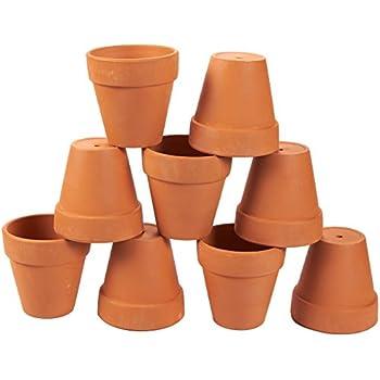 Amazon Com Pennington Mini Flower Pots 2 Terra Cotta 6 Pack