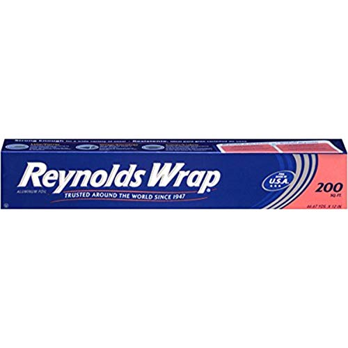 Aluminum Foil Heavy Duty Wrap - Reynolds Wrap Aluminum Foil - 200 Square Feet
